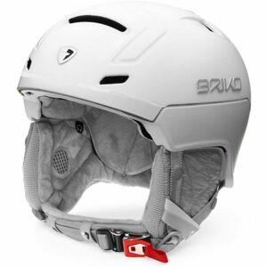 Briko AMBRA bílá (56 - 58) - Dámská lyžařská helma