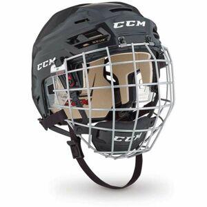 CCM TACKS 110 COMBO SR černá (51 - 56) - Hokejová helma