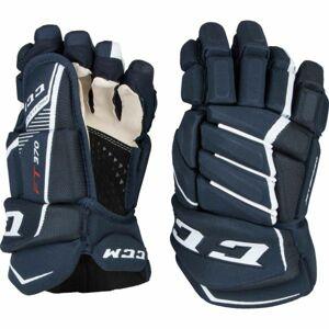 CCM JETSPEED 370 SR modrá 15 - Hokejové rukavice