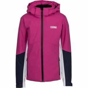 Colmar JR.GIRL SKI JKT růžová 12 - Dívčí lyžařská bunda