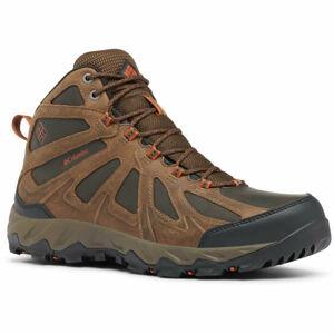 Columbia PEAKFREAK XCRSN II MID LTHR hnědá 11 - Pánská trailová obuv