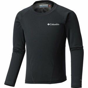 Columbia MIDWEIGHT CREW 2 černá L - Dětské funkční triko