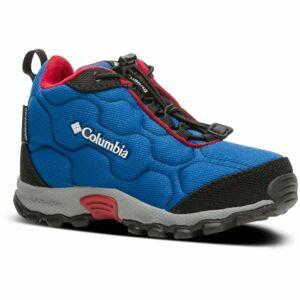 Columbia CHILDRENS FIRECAMP MID 2 WP modrá 13 - Dětské trekingové boty