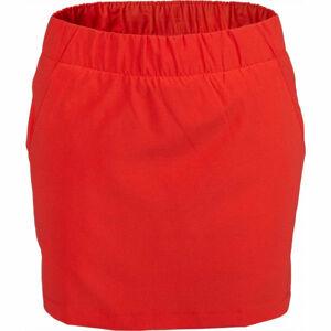 Columbia CHILL RIVER SKORT červená S - Dámská kraťasová sukně