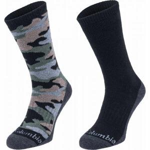 Columbia COOL CREW 2P  43 - 46 - Pánské ponožky