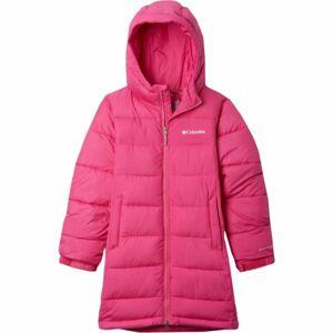 Columbia PIKE LAKE LONG JACKET růžová XL - Dívčí zimní bunda