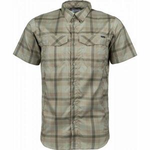 Columbia SILVER RIDGE LITE PLAID SHORT SLEEVE  L - Pánská košile