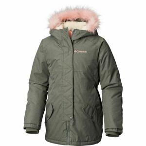 Columbia CARSON PASS MID JACKET tmavě zelená S - Dětský kabátek