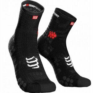 Compressport RACE V3.0 RUN HI černá T3 - Běžecké ponožky