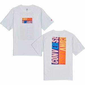 Converse REVERSE BOX TEE  XL - Pánské triko