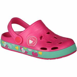 Coqui FROGGY růžová 30/31 - Dětské sandály