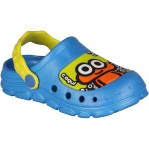 Coqui STONEY modrá 29/30 - Dětské sandály