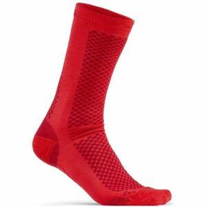 Craft WARM  2-PACK červená 37-39 - Ponožky 2-pack