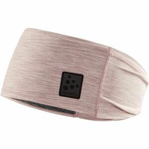 Craft MICROFLEECE růžová UNI - Funkční čelenka