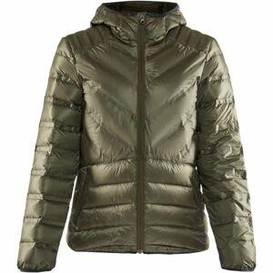 Craft LIGHTWEIGHT DOWN zelená XL - Dámská zimní bunda