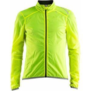 Craft LITHE JACKET žlutá M - Pánská lehká cyklistická bunda