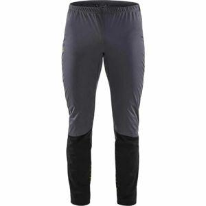 Craft STORM BALANCE šedá M - Pánské funkční kalhoty na běžecké lyžování