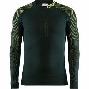 Craft WARM INTENSITY zelená M - Pánské funkční triko