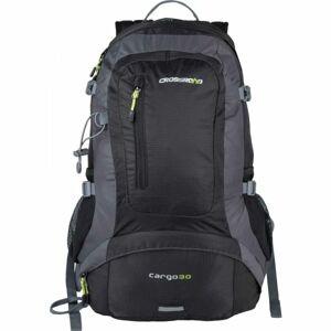 Crossroad CARGO 30 černá NS - Turistický odvětraný batoh