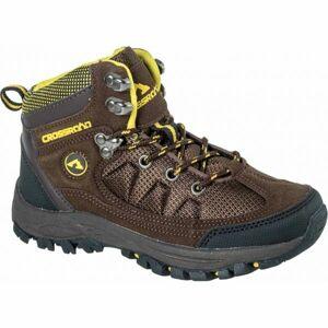 Crossroad DHUS hnědá 26 - Dětská treková obuv