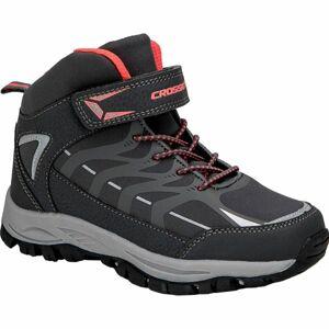 Crossroad DINEX černá 34 - Dětská treková obuv