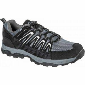 Crossroad DION tmavě šedá 46 - Pánská treková obuv