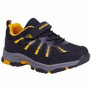 Crossroad DUBLIN černá 28 - Dětská volnočasová obuv