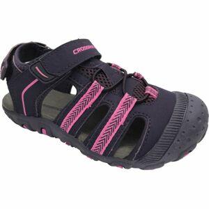 Crossroad MILL fialová 35 - Dětské sandály