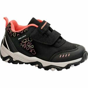 Crossroad DIAMS černá 25 - Dětská treková obuv
