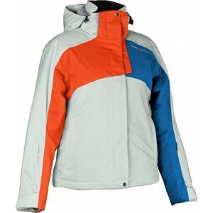 Diel ELINA bílá M - Dětská lyžařská bunda