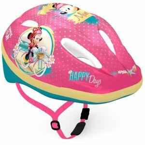 Disney PRILBA růžová (52 - 56) - Dětská cyklistická přilba