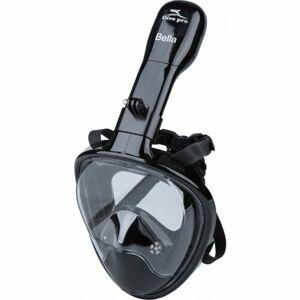 Dive pro BELLA MASK BLACK  L/XL - Šnorchlovací maska
