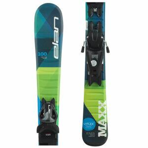 Elan MAXX QS + EL 4.5  120 - Chlapecké sjezdové lyže