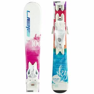 Elan SKY QS + EL 4.5  100 - Dívčí sjezdové lyže