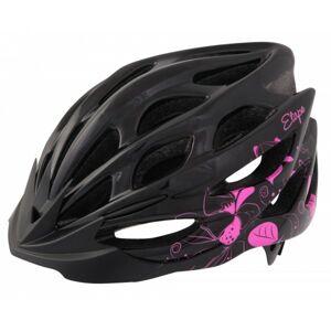 Etape VESPER černá (55 - 56) - Dámská cyklistická helma