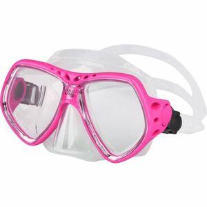Finnsub CLIFF MASK růžová NS - Potápěčská maska