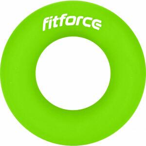 Fitforce RINGGRIP M světle zelená NS - Posilovací kolečko