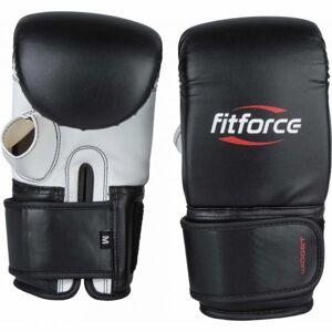 Fitforce WIDGET černá M - Boxerské rukavice