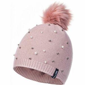 FLLÖS AGNETHA světle růžová UNI - Dámská zimní čepice