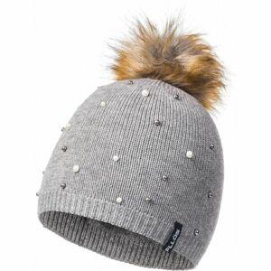FLLÖS MAIA šedá UNI - Dámská zimní čepice