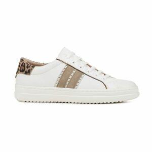Geox D PONTOISE bílá 38 - Dámská volnočasová obuv