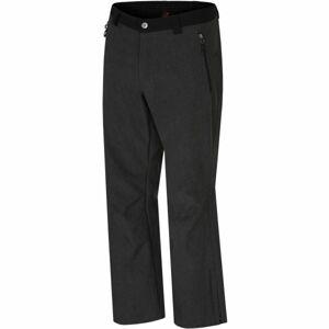 Hannah EDGARD černá S - Pánské softshellové kalhoty