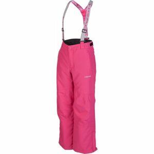 Head BETO růžová 116-122 - Dětské zimní kalhoty