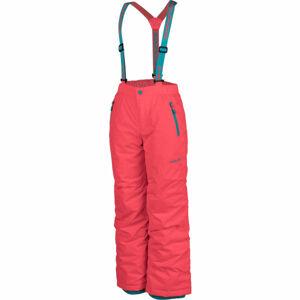 Head VELES oranžová 152-158 - Dětské lyžařské kalhoty