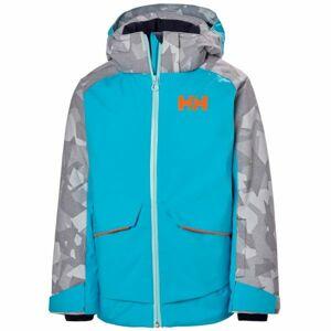 Helly Hansen JR STARLIGHT JACKET modrá 16 - Dětská lyžařská bunda