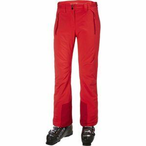 Helly Hansen ALPHELIA PANT W červená M - Dámské lyžařské kalhoty
