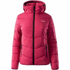 Hi-Tec LADY FISA růžová L - Dámská zimní bunda