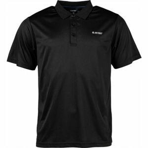 Hi-Tec HOLOS černá S - Pánské triko