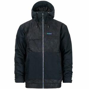 Horsefeathers WILLIS EIKI JACKET černá M - Pánská lyžařská bunda