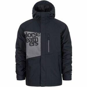 Horsefeathers CLAPTON JACKET černá XL - Pánská zimní bunda